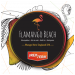 Moutpakket BREWFERM. Type: FLAMANGO  BEACH. Voor 20 l